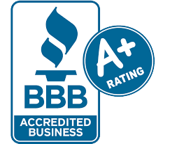 Better Business Bureau Accredited with an A+ rating